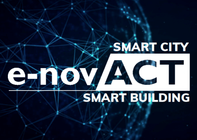 e-novACT uses its FUSION AS IoT platform to serve the smart city and smart building industry